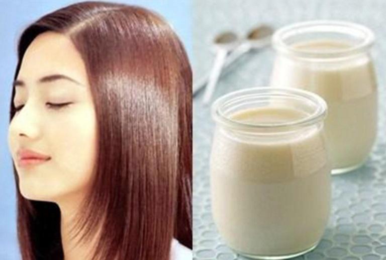 Mặt nạ dưỡng từ sữa giúp tóc mọc nhanh trong 7 ngày.