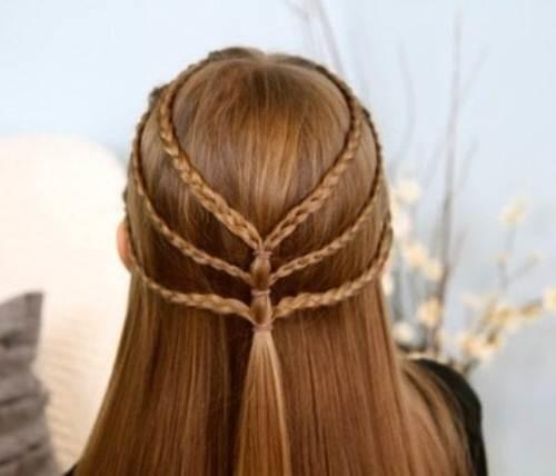 10 kiểu tóc tết cho bé gái, mẹ chỉ mất 5 phút mỗi sáng mà con xinh lên bội phần - Ảnh 11