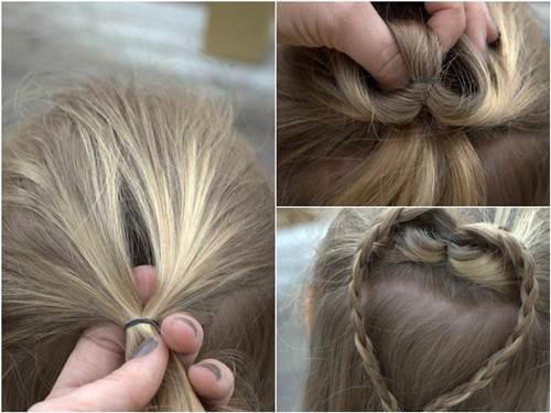 10 kiểu tóc tết cho bé gái, mẹ chỉ mất 5 phút mỗi sáng mà con xinh lên bội phần - Ảnh 6