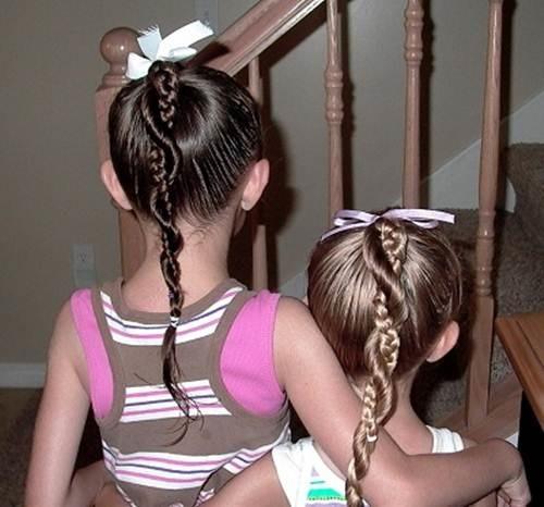 10 kiểu tóc tết cho bé gái, mẹ chỉ mất 5 phút mỗi sáng mà con xinh lên bội phần - Ảnh 7