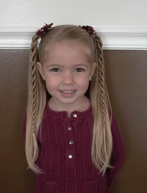 10 kiểu tóc tết cho bé gái, mẹ chỉ mất 5 phút mỗi sáng mà con xinh lên bội phần - Ảnh 8