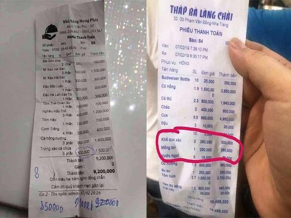 Nha Trang: Liên tiếp các nhà hàng bị tố