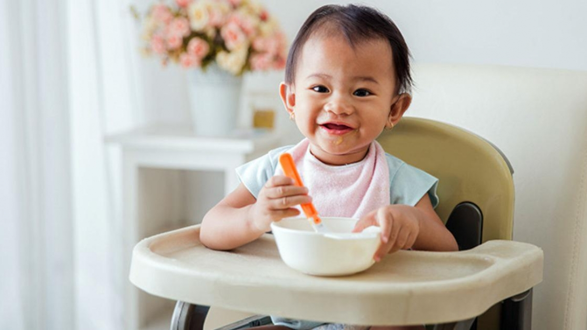 Giải pháp khi bé chỉ ăn cháo xay - Ảnh 1