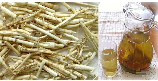 Thường xuyên uống nước sắc rễ cỏ tranh để bổ phổi, thanh lọc cơ thể, giúp bạn có làn da tươi sáng