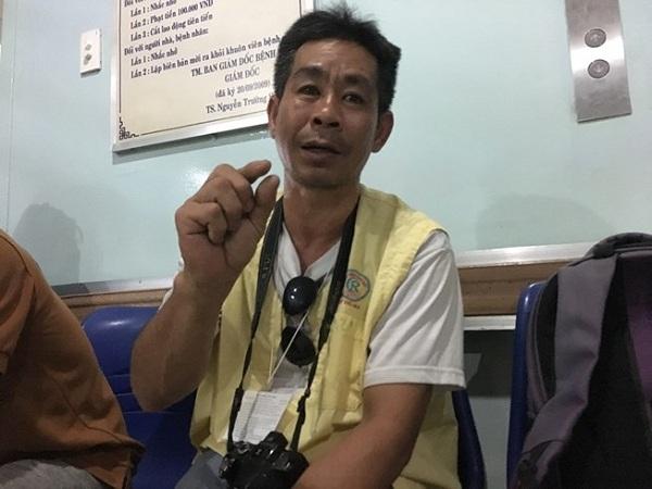 Ông Phan Trung Tính chính là người lái xe ôm chở đạo diễn Đặng Quốc Việt ở Cần Thơ