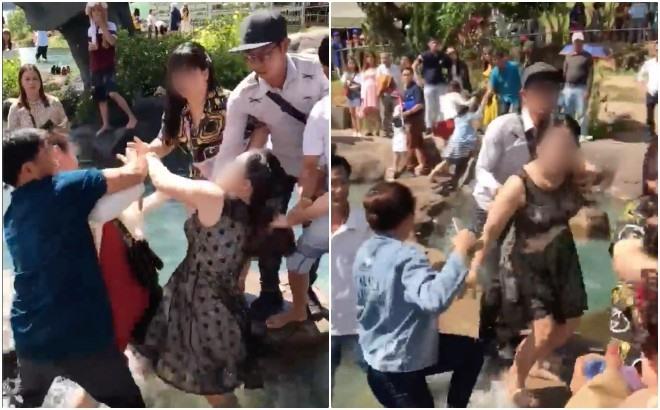 Hai phụ nữ 'choảng nhau' vì tranh chỗ chụp ảnh 'sống ảo' ở Đà Lạt? - Ảnh 2