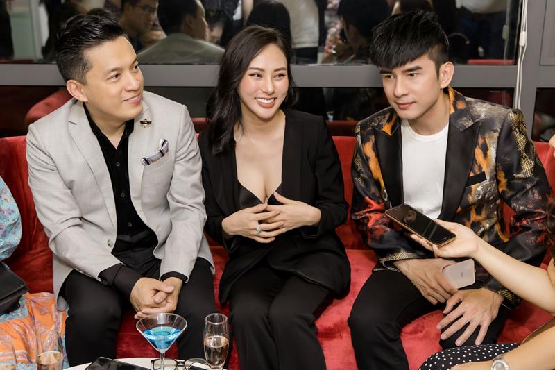 Lam Trường, Đan Trường và nhóm Monstar hội ngộ chúc mừng HH Thu Hoàng - Ảnh 3