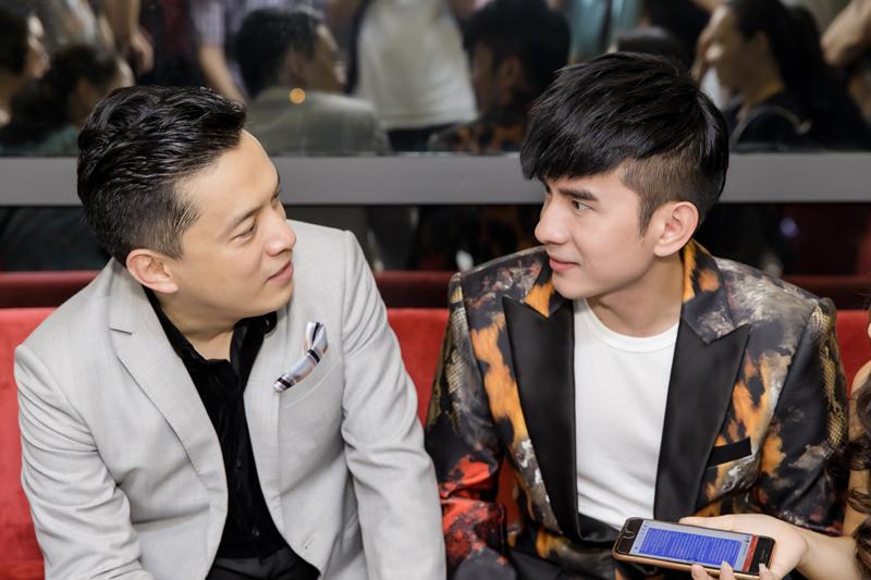 Lam Trường, Đan Trường và nhóm Monstar hội ngộ chúc mừng HH Thu Hoàng - Ảnh 4