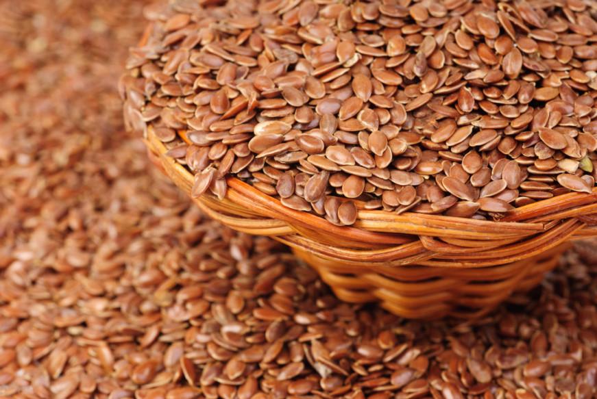 Hạt lanh chứa nhiều chất dinh dưỡng tốt cho sức khỏe tình dụ