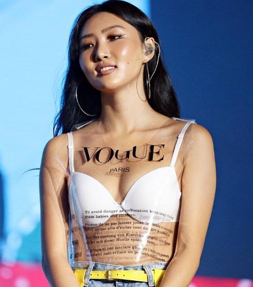 Nữ ca sĩ nhận phải nhiều ý kiến trái chiều về phong cách ăn mặc gợi cảm.
