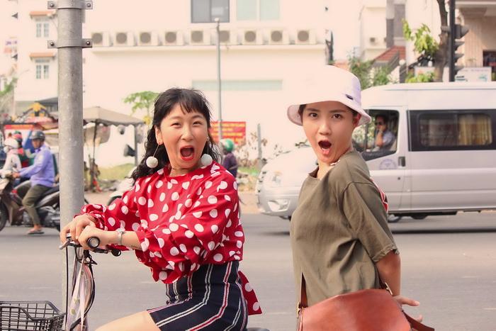 Trang Hí vào vai nhân vật đúng với tính cách thật ngoài đời khiến cô thoải mái diễn xuất
