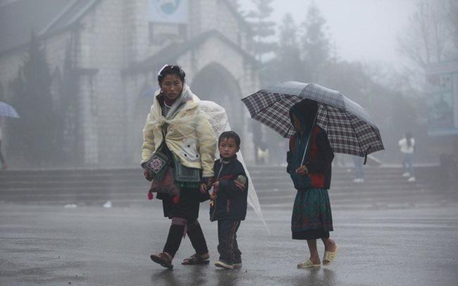 Dự báo thời tiết ngày 26/2: Mưa rét bao trùm Bắc Bộ - Ảnh 1