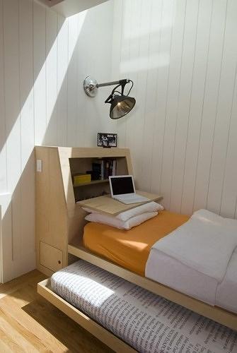 Ngẩn ngơ những mẫu phòng ngủ siêu nhỏ, siêu xinh dành cho nhà chật - Ảnh 4