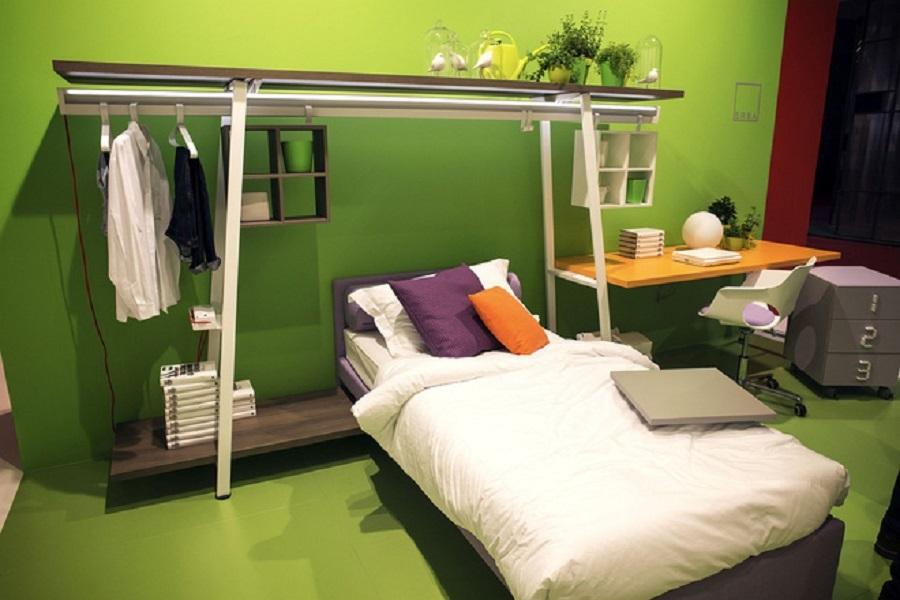 Ngẩn ngơ những mẫu phòng ngủ siêu nhỏ, siêu xinh dành cho nhà chật - Ảnh 6