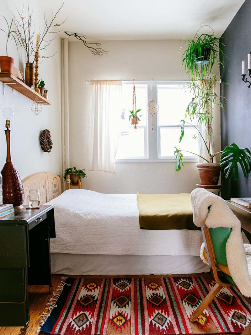 Ngẩn ngơ những mẫu phòng ngủ siêu nhỏ, siêu xinh dành cho nhà chật - Ảnh 10