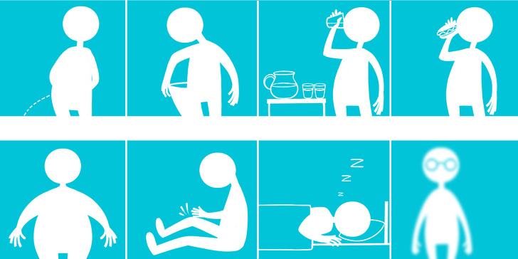 Nhìn biểu hiện cơ thể đoán biết 10 bệnh nguy hiểm dễ gặp hiện nay  - Ảnh 1