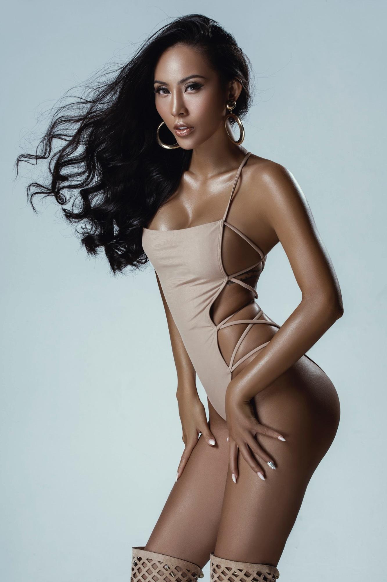 Chân dài Trương Hằng khoe trọn 'đường con nhức mắt' trong bộ hình bikini nóng bỏng - Ảnh 3