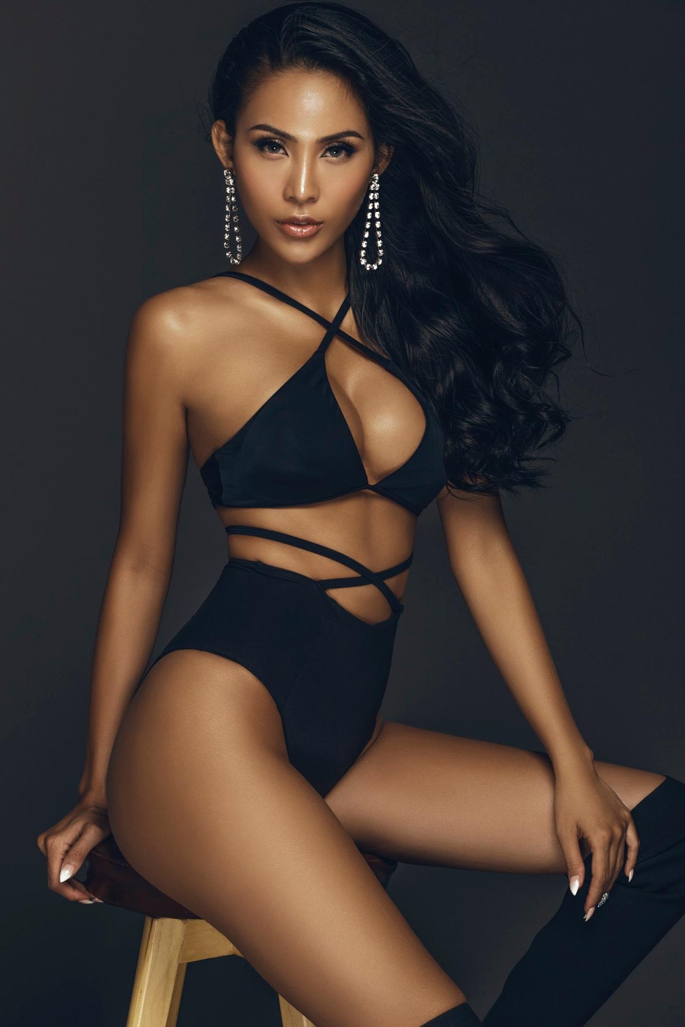 Chân dài Trương Hằng khoe trọn 'đường con nhức mắt' trong bộ hình bikini nóng bỏng - Ảnh 5