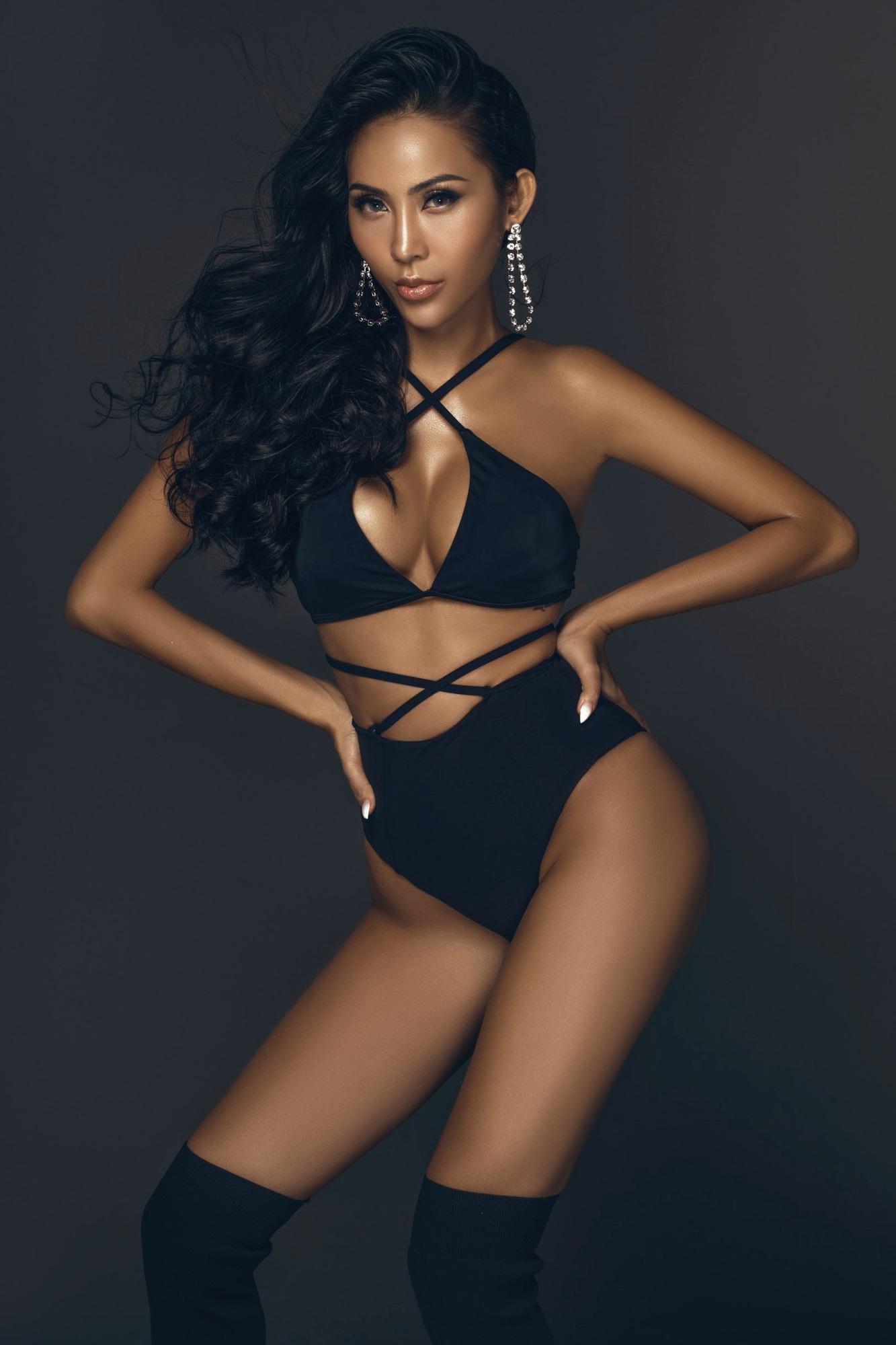 Chân dài Trương Hằng khoe trọn 'đường con nhức mắt' trong bộ hình bikini nóng bỏng - Ảnh 6