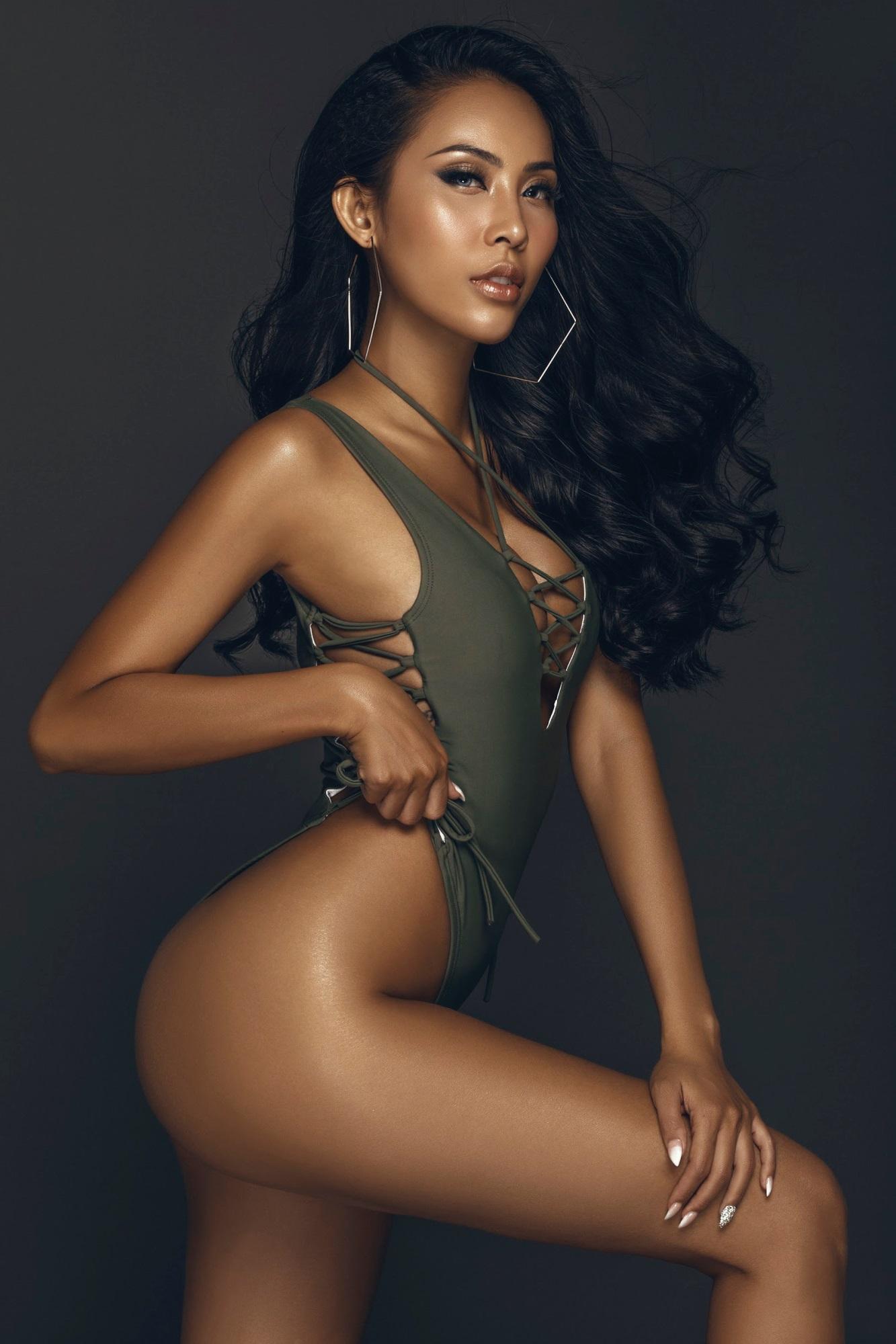 Chân dài Trương Hằng khoe trọn 'đường con nhức mắt' trong bộ hình bikini nóng bỏng - Ảnh 7