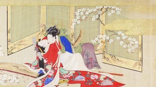 Shunga miêu tả rất sinh động và tỉ mỉ những tập quán tính dục của người Nhật