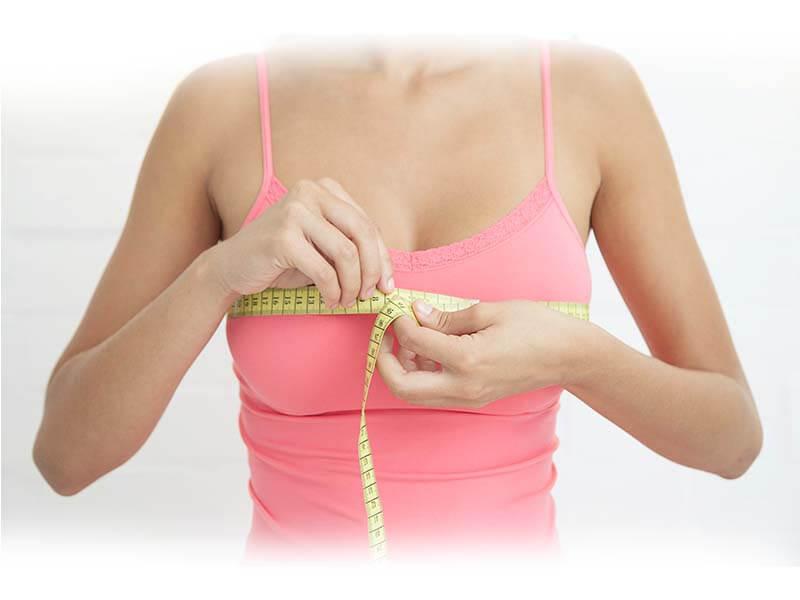 Tăng nồng độ estrogen trong cơ thể sẽ làm tăng kích thước vòng 1