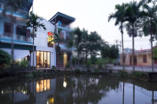 Căn nhà là tổ ấm của một gia đình trẻ ở tỉnh Hải Dương.
