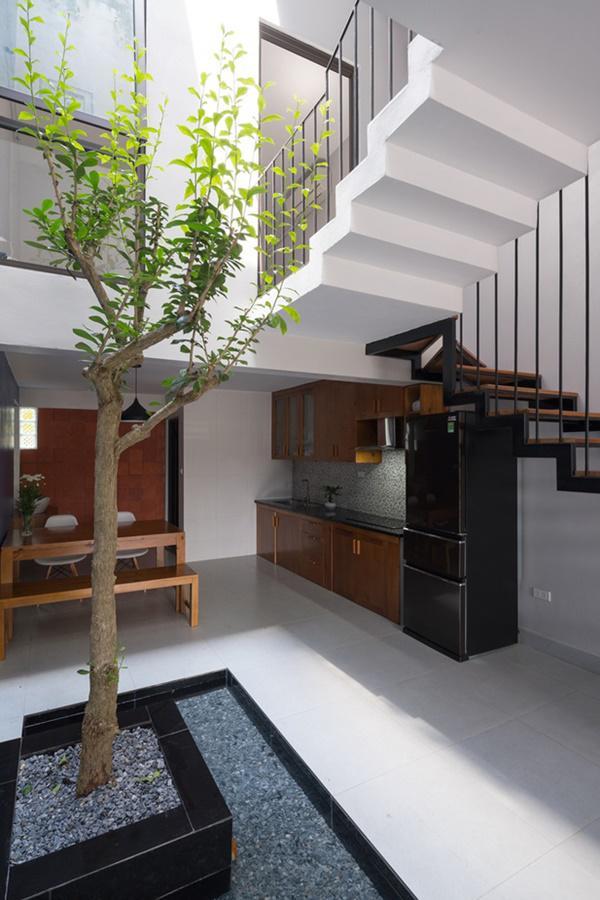 Đồ nội thất tối giản, hiện đại.
