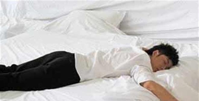 Khi uống quá nhiều bia rượu, bạn thường rơi vào trạng thái ngủ say