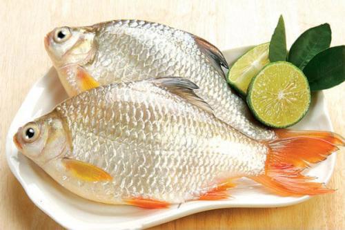 Các món ăn từ cá diếc là