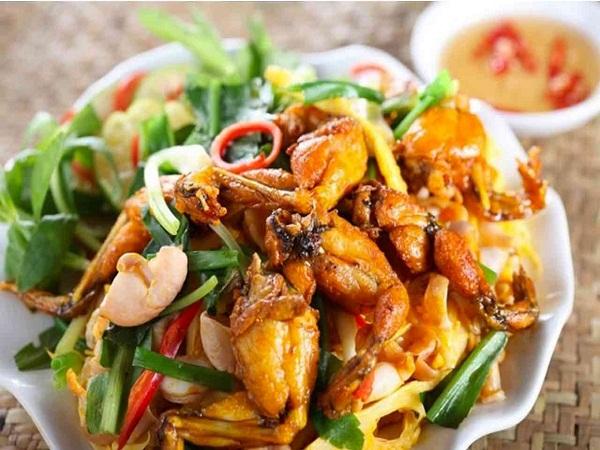 Ếch xào sả ớt chế biến đơn giản mà đậm đà, thơm ngon là một trong những món ăn được yêu thích trong bữa cơm gia đình