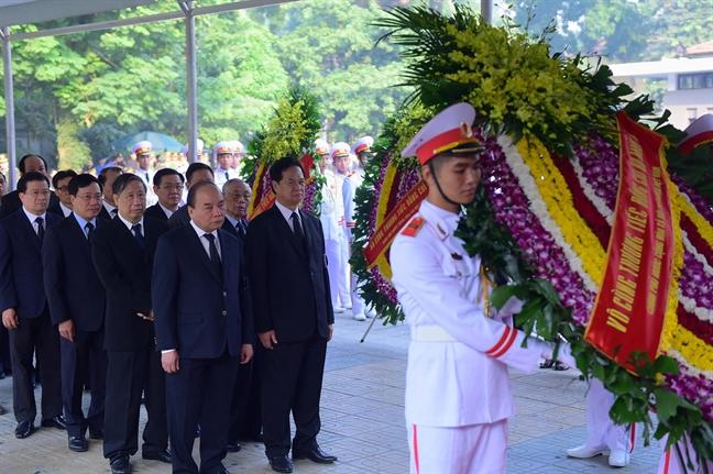 Tang lễ nguyên Tổng bí thư Đỗ Mười tổ chức theo nghi thức Quốc tang - Ảnh 10