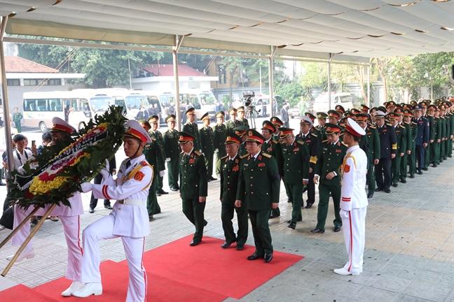 Tang lễ nguyên Tổng bí thư Đỗ Mười tổ chức theo nghi thức Quốc tang - Ảnh 11
