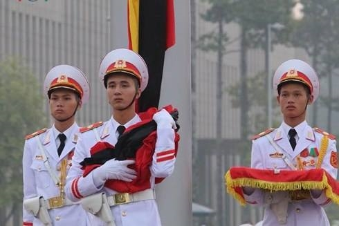Tang lễ nguyên Tổng bí thư Đỗ Mười tổ chức theo nghi thức Quốc tang - Ảnh 2