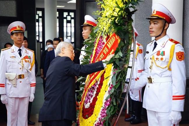 Tang lễ nguyên Tổng bí thư Đỗ Mười tổ chức theo nghi thức Quốc tang - Ảnh 7