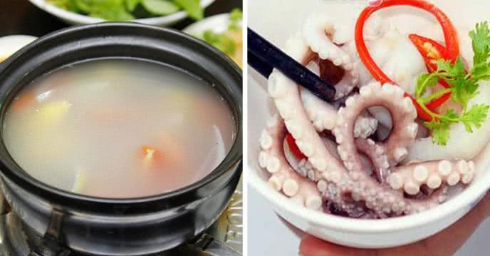 Món bạch tuộc nhúng giấm chế biến đơn giản mà thơm ngon độc đáo sẽ là mồi nhậu ưng ý của ông xã và món ăn ngon miệng cho cả nhà