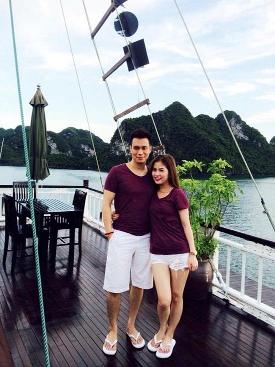 Những người vợ vừa xinh vừa giỏi làm hậu phương vững chắc cho các nam diễn viên điển trai Việt - Ảnh 11