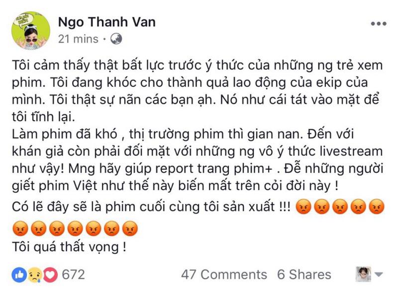 Thanh niên livestream lén 'Cô Ba Sài Gòn': Trấn Thành bức xúc đòi phạt nặng, đọc status ai cũng choáng - Ảnh 6
