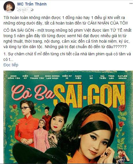 Thanh niên livestream lén 'Cô Ba Sài Gòn': Trấn Thành bức xúc đòi phạt nặng, đọc status ai cũng choáng - Ảnh 2