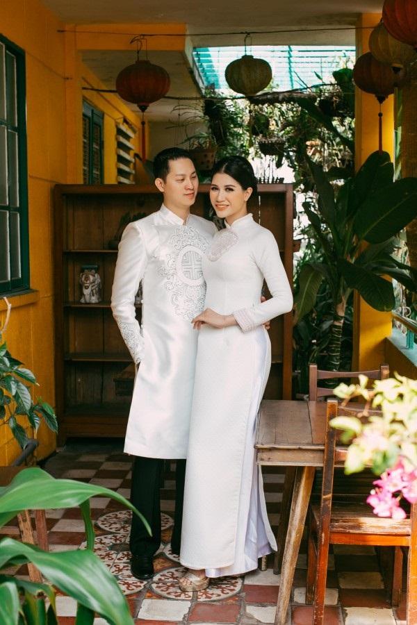 Ngắm trọn bộ ảnh cưới truyền thống đẹp lung linh của Trang Trần cùng ông xã Việt kiều Louis Trần - Ảnh 5