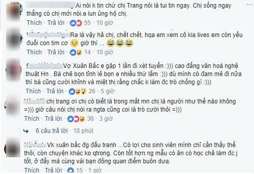 'Thánh chửi' Trang Trần lên tiếng bênh vực NSND Anh Tú, vợ danh hài Xuân Bắc đáp trả: 'Đúng là nhìn trò ra thầy' - Ảnh 5