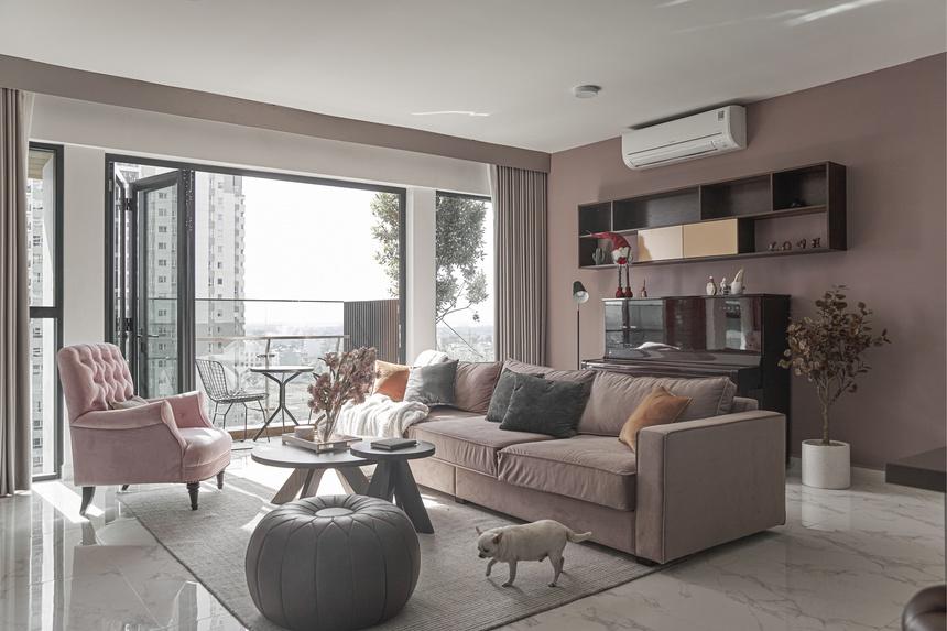 Căn hộ sắc hồng lãng mạn 170 m2 tại TP Thủ Đức - Ảnh 1