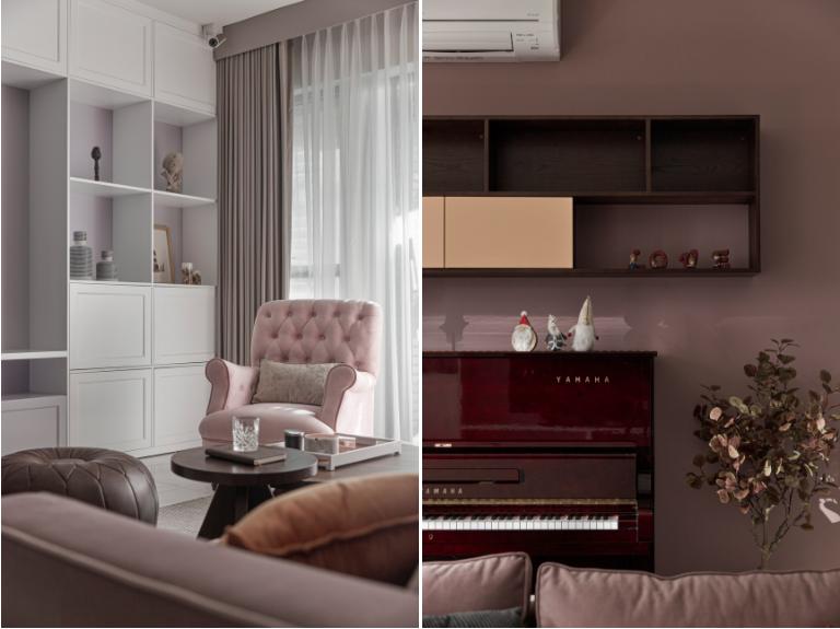 Căn hộ sắc hồng lãng mạn 170 m2 tại TP Thủ Đức - Ảnh 5