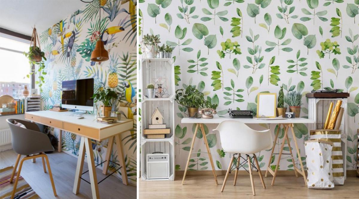 Ý tưởng trang trí giúp bàn làm việc của bạn hòa vào thiên nhiên - Ảnh 1