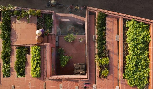 Mãn nhãn loạt biệt thự phố có 'vườn trên mây' tốt như nông trại - Ảnh 5