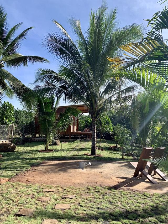 Nhà vườn 'đổi gió' rộng 4.000m2 của ông bố Sài Gòn dành tặng vợ con - Ảnh 1