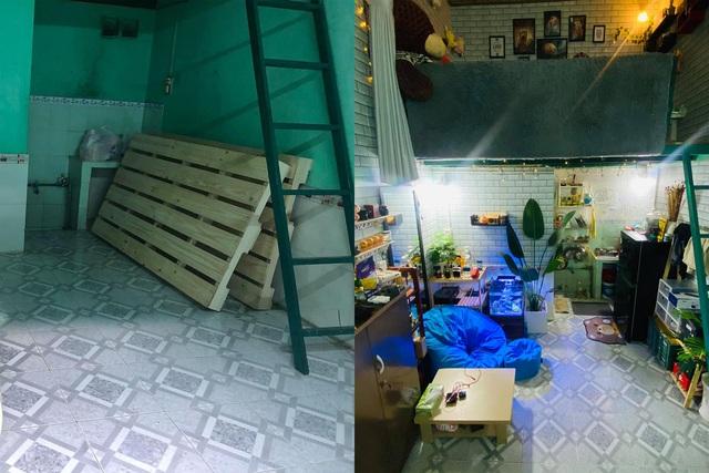 Thuê căn phòng trọ cũ, 9x Sài Gòn gây bất ngờ với màn lột xác ngoạn mục - Ảnh 2