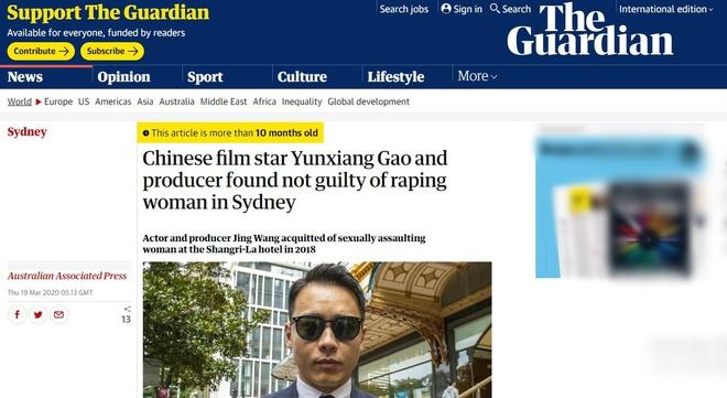 Những scandal của sao Hoa ngữ gây chấn động truyền thông thế giới - Ảnh 3
