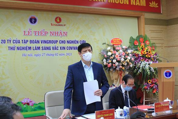 Mỗi liều vắcxin COVIVAC của Việt Nam không quá 60 ngàn đồng - Ảnh 2