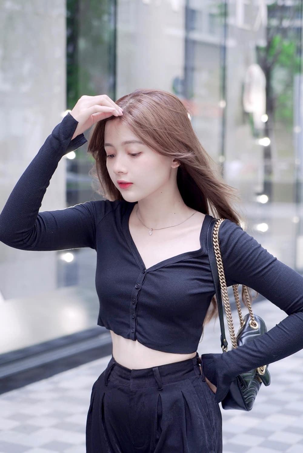 4 'hot girl ảnh thẻ' nổi đình đám: Ai cũng sở hữu nhan sắc 'cực phẩm' hết phần thiên hạ - Ảnh 5